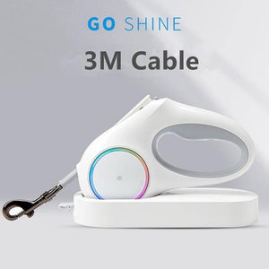 Pet Traction Rope with LED - Fashionsarah.com