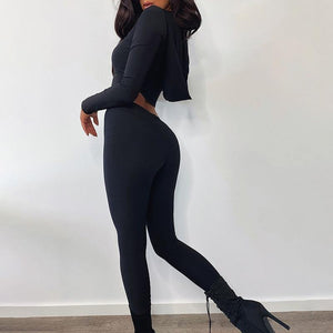 Autumn Fitness Outfit - Fashionsarah.com