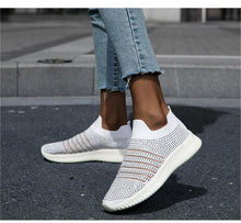Load image into Gallery viewer, Breathable Rhinestone Sneakers - Fashionsarah.com