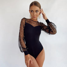 Load image into Gallery viewer, Elegant Pearl Bodysuit