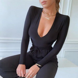 Bodysuits With Shoulder - Fashionsarah.com