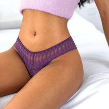 Load image into Gallery viewer, G lace thong underwear