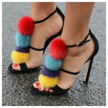 Load image into Gallery viewer, Hot Sale!Sexy Fur Ball Stiletto. - Fashionsarah