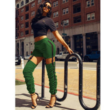 Load image into Gallery viewer, Pencil Streetwear Bottoms. - Fashionsarah