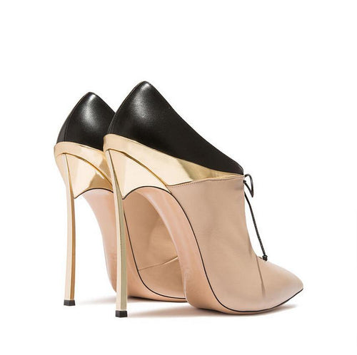 Nude Super Lux Heels - Fashionsarah