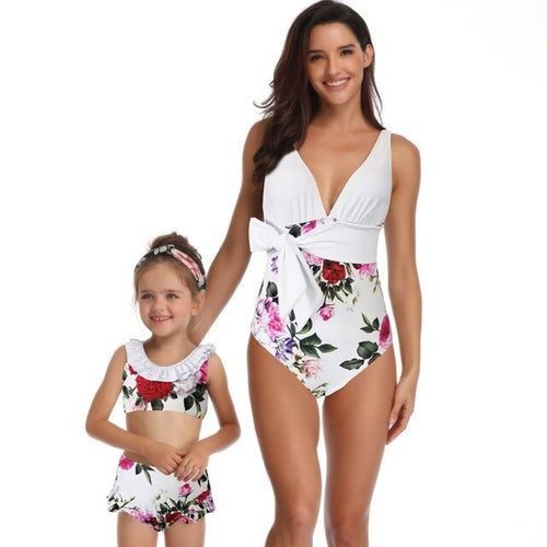 New Floral Matching Swimwear. What's not to love? - Fashionsarah