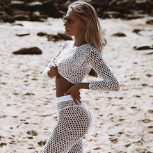 Load image into Gallery viewer, Beachwear fashion.Black or White? - Fashionsarah