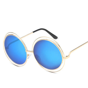 Luxury Vintage Retro Round Sunglasses. What's not to love? - Fashionsarah
