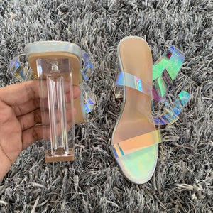 Best Selling!Transparent Heels. - Fashionsarah