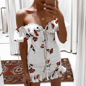 Sexy Bohemian Floral Dress! - Fashionsarah