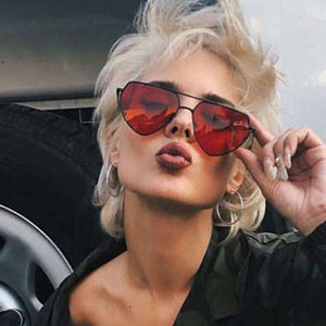 Heart Cat Eye Sunglasses! - Fashionsarah