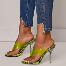 Load image into Gallery viewer, Summer Crystal Clear Heels. What's not to love? - Fashionsarah