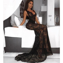 Load image into Gallery viewer, Sexy Black Lace Dress! - Fashionsarah