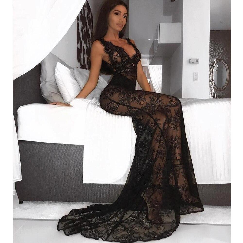 Sexy Black Lace Dress! - Fashionsarah