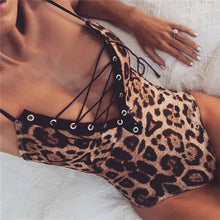 Load image into Gallery viewer, Sexy Leopard Bodysuit! - Fashionsarah