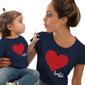 Mother Daughter Heart T-Shirts . What's not to love? - Fashionsarah