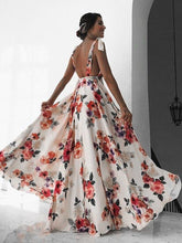 Load image into Gallery viewer, Sexy Floral Boho Dress. - Fashionsarah