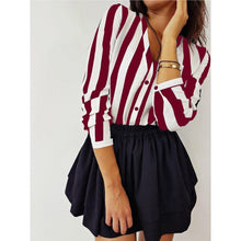 Load image into Gallery viewer, Summer Sexy Striped Blouse. - Fashionsarah