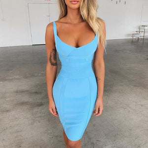 Aqua bodycon Dress! - Fashionsarah