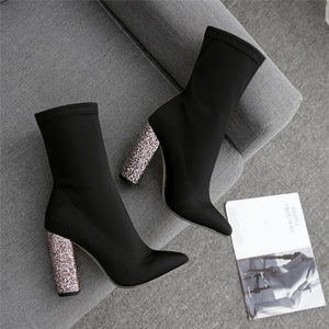 Luxury Ankle Stretch Boots! - Fashionsarah