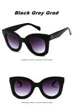 Load image into Gallery viewer, New Cat Eye Celebrity Sunglasses. What's not to love? - Fashionsarah