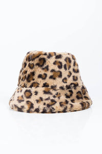 Bucket Hat In Leopard - Fashionsarah.com