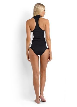 BLOCK PARTY HIGH NECK ONE PIECE