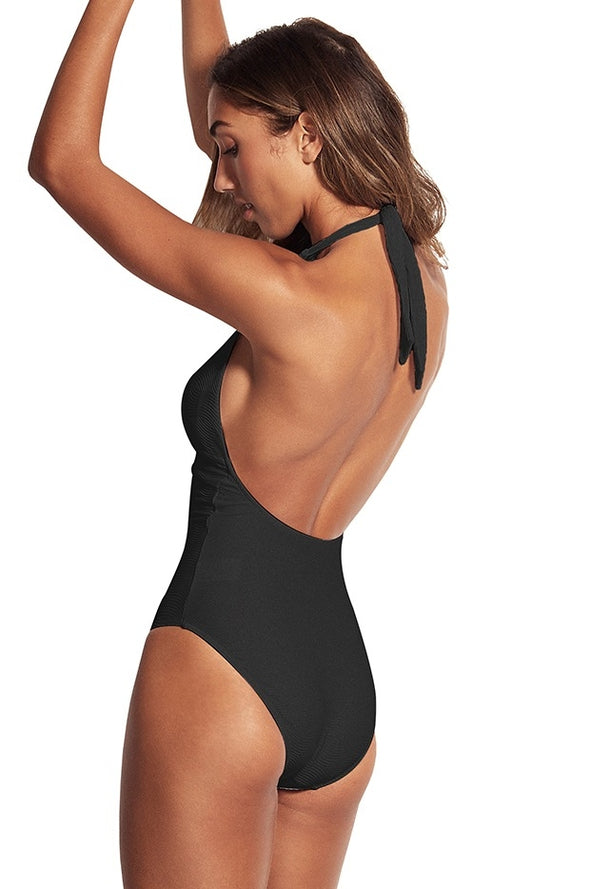 CAPRI SEA HALTER ONE PIECE