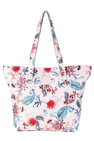 CARRIED AWAY WATER GARDEN NEOPRENE TOTE
