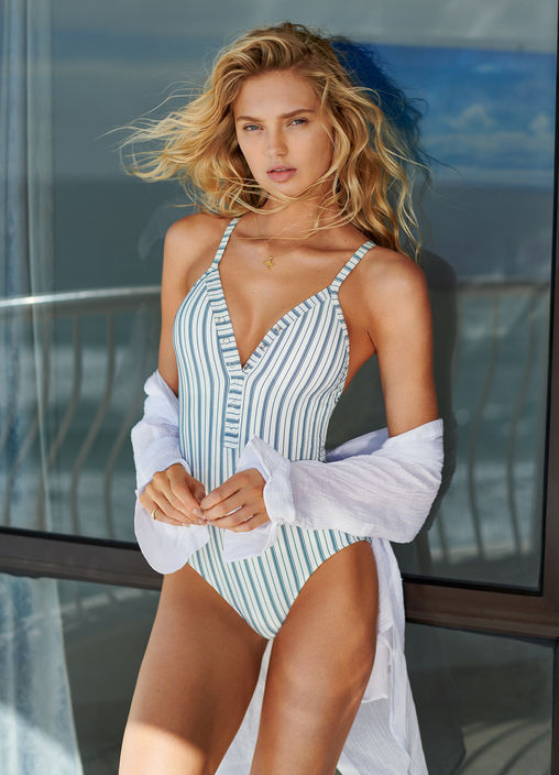 SEA STRIPE ONE PIECE