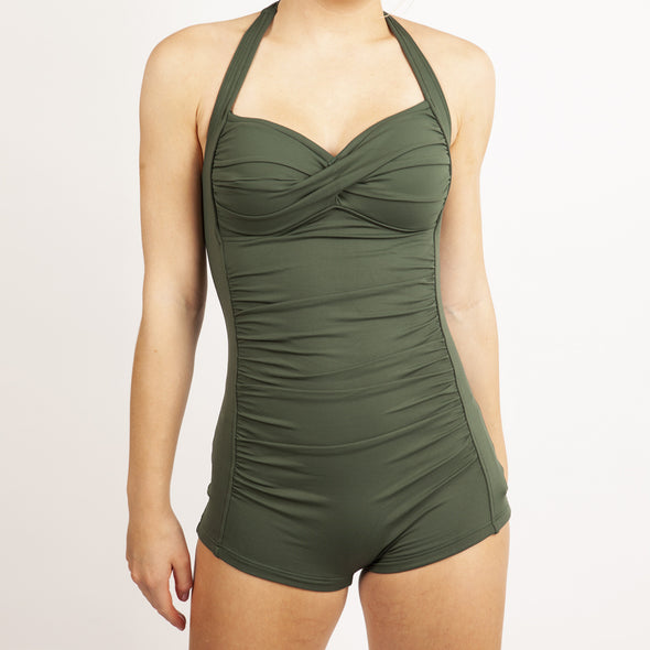 SEAFOLLY BOYLEG ONE PIECE