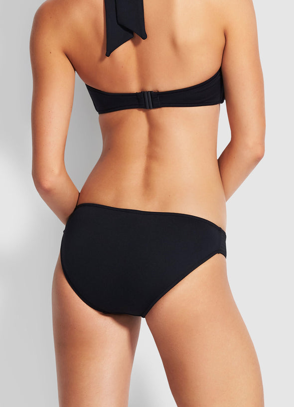SEAFOLLY QUILTED HIPSTER BIKINI PANTS