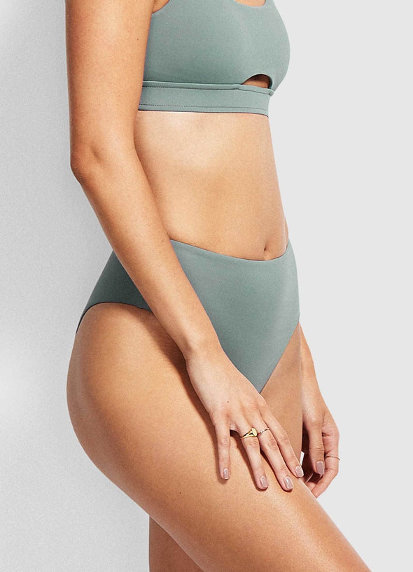 ACTIVE WIDE SIDE HIGH WAISTED BIKINI PANTS