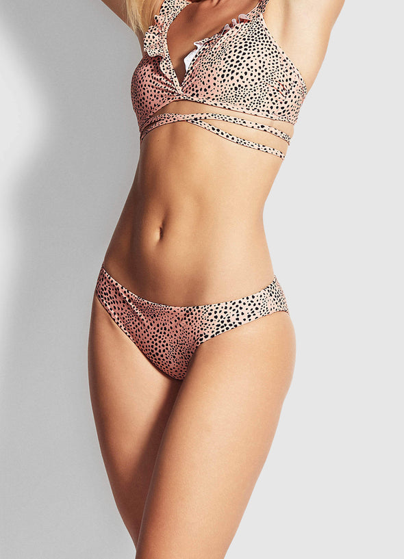SAFARI SPOT CHEEKY HIPSTER BIKINI PANTS