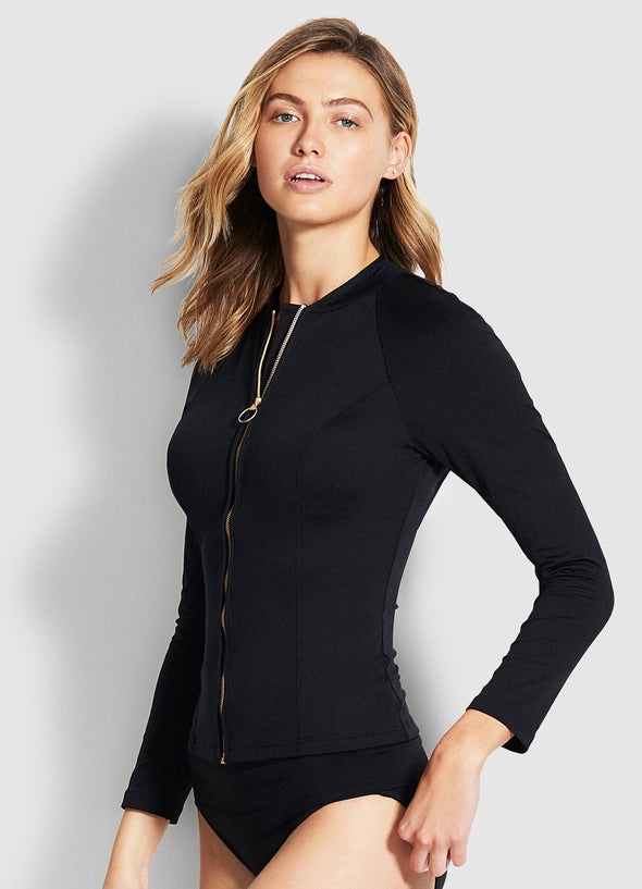 SEAFOLLY LONG SLEEVE RASH SUNVEST