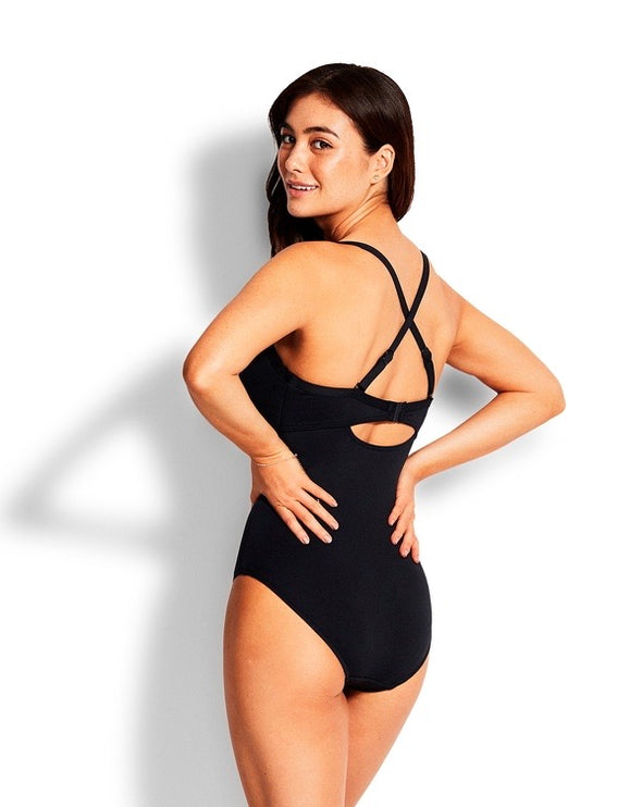 SEAFOLLY DD TWIST FRONT ONE PIECE