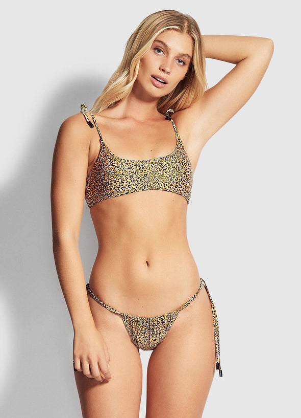 SPIRIT ANIMAL BRAZILIAN TIE SIDE BIKINI PANTS