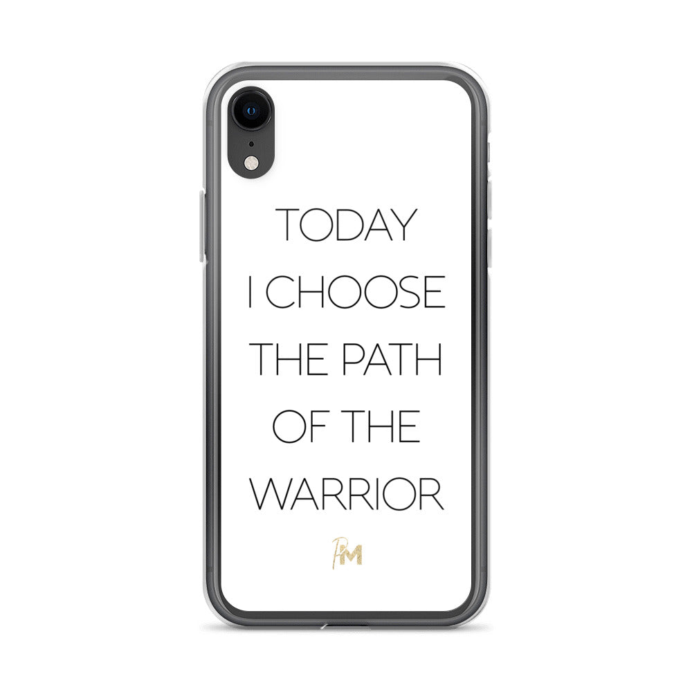 Path of the Warrior iPhone Case