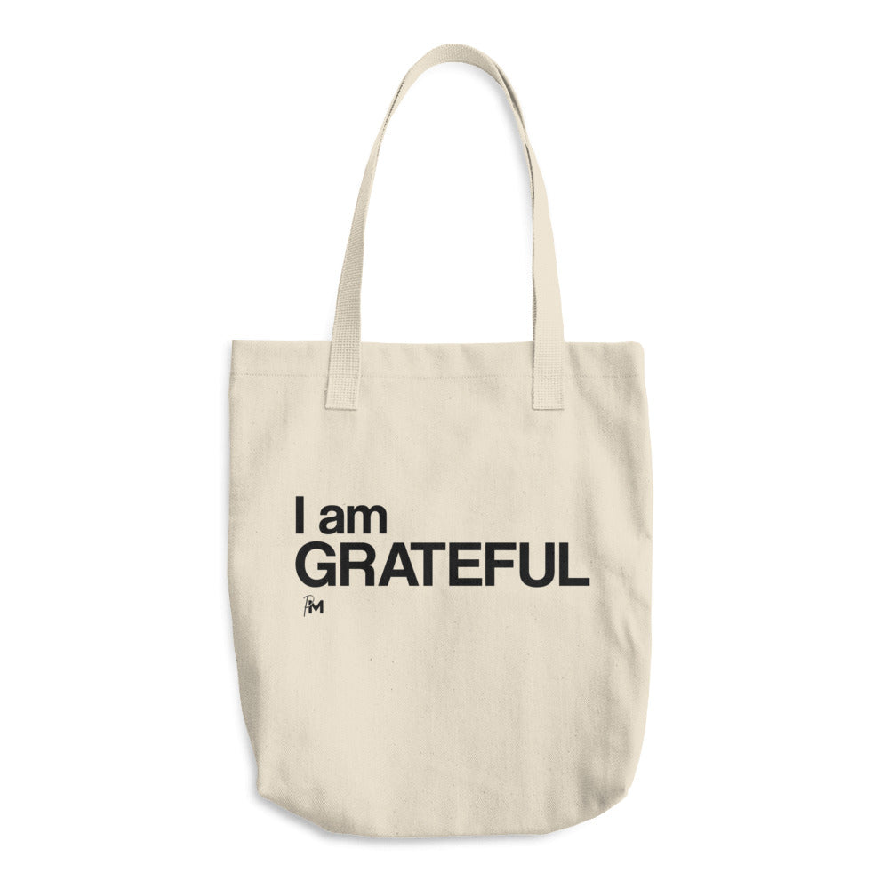 I am Grateful Tote Bag