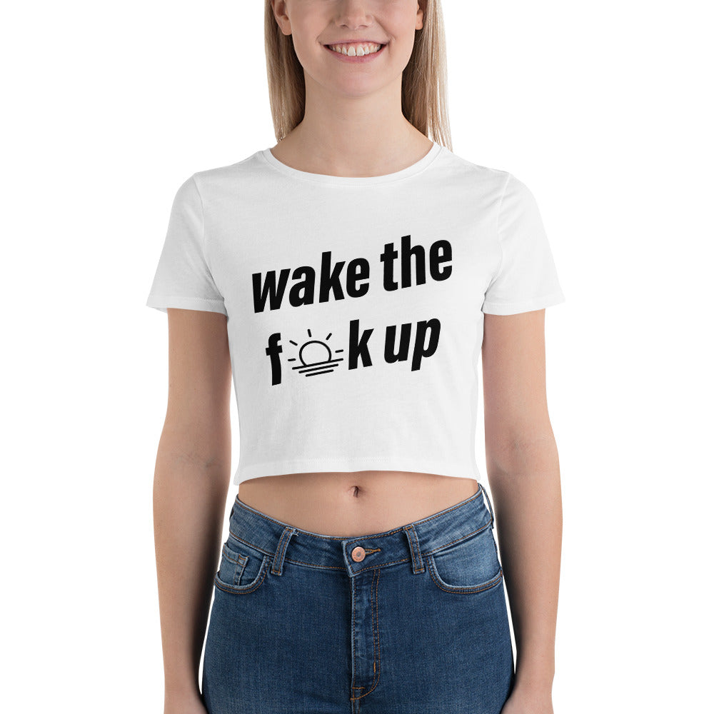 WTFU Crop Tee (Ladies)