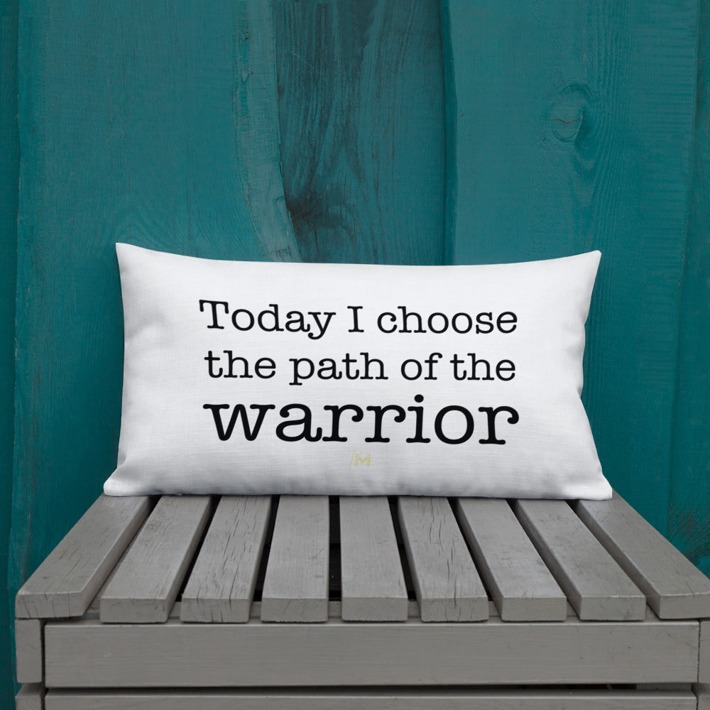 Path of the Warrior Pillow