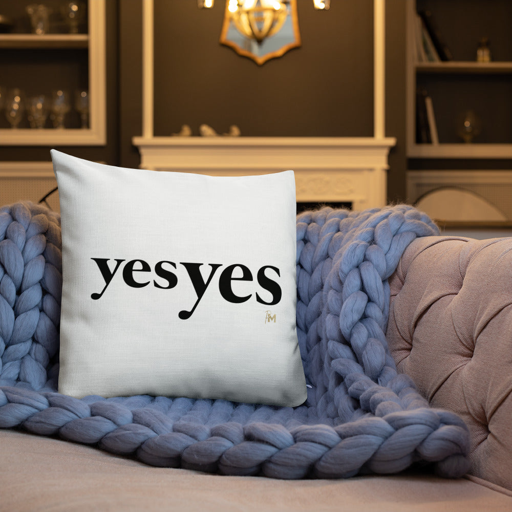 Yes Yes Pillow
