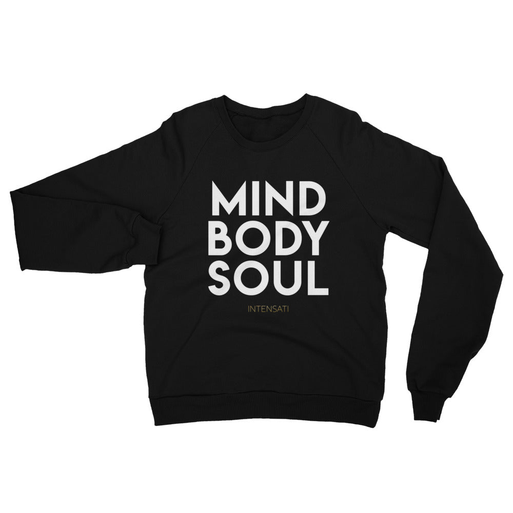Mind Body Soul Fleece Sweatshirt (Unisex)