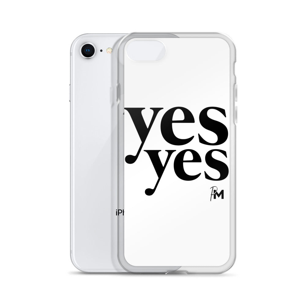 Yes Yes iPhone Case