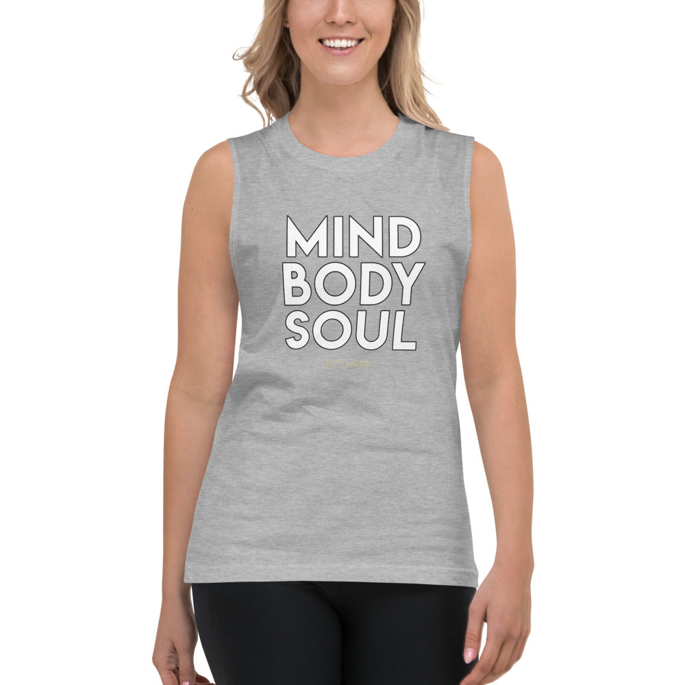 Mind Body Soul Muscle Shirt (Unisex)