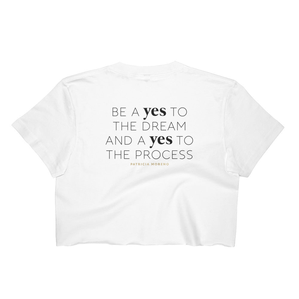 Yes Yes Crop Tee (Ladies)