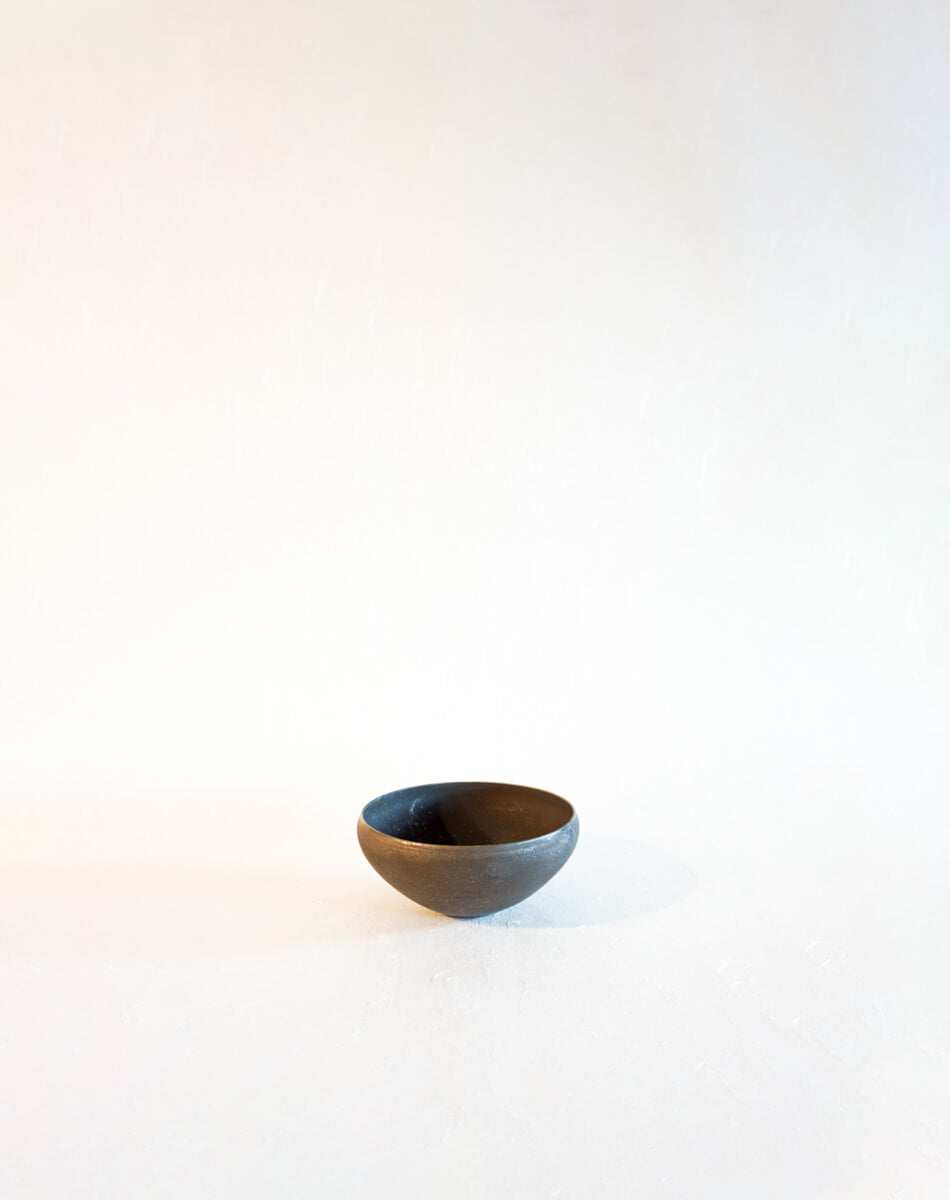 Child Umber Metallic Bowl (S)