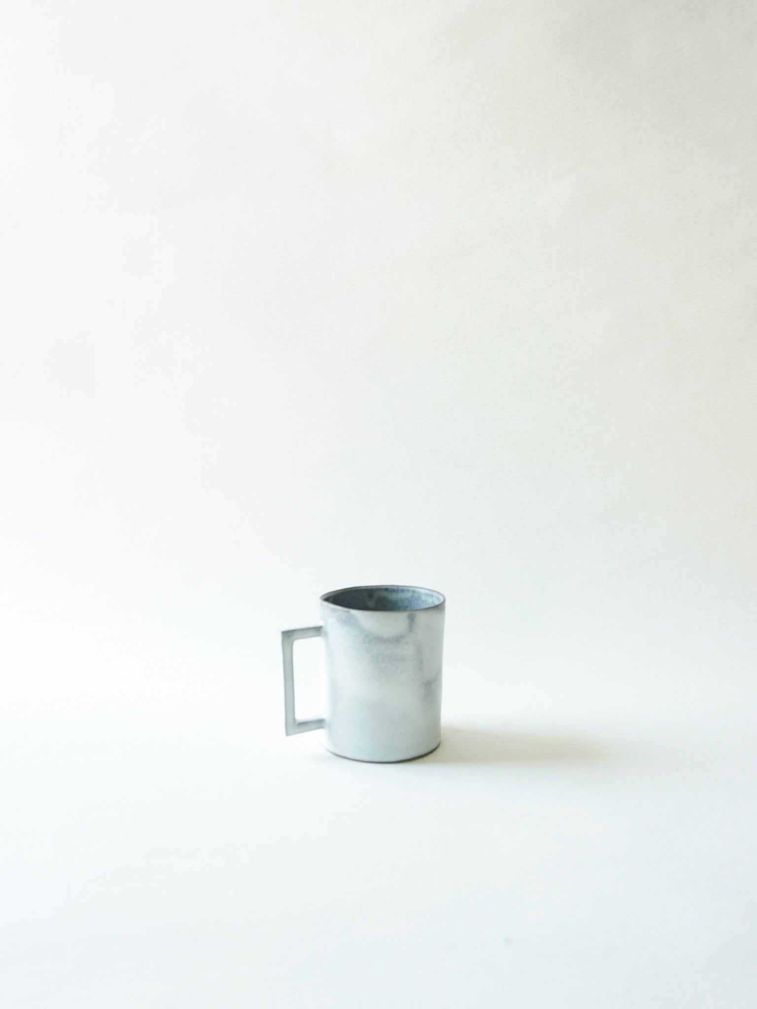 White Large Cup