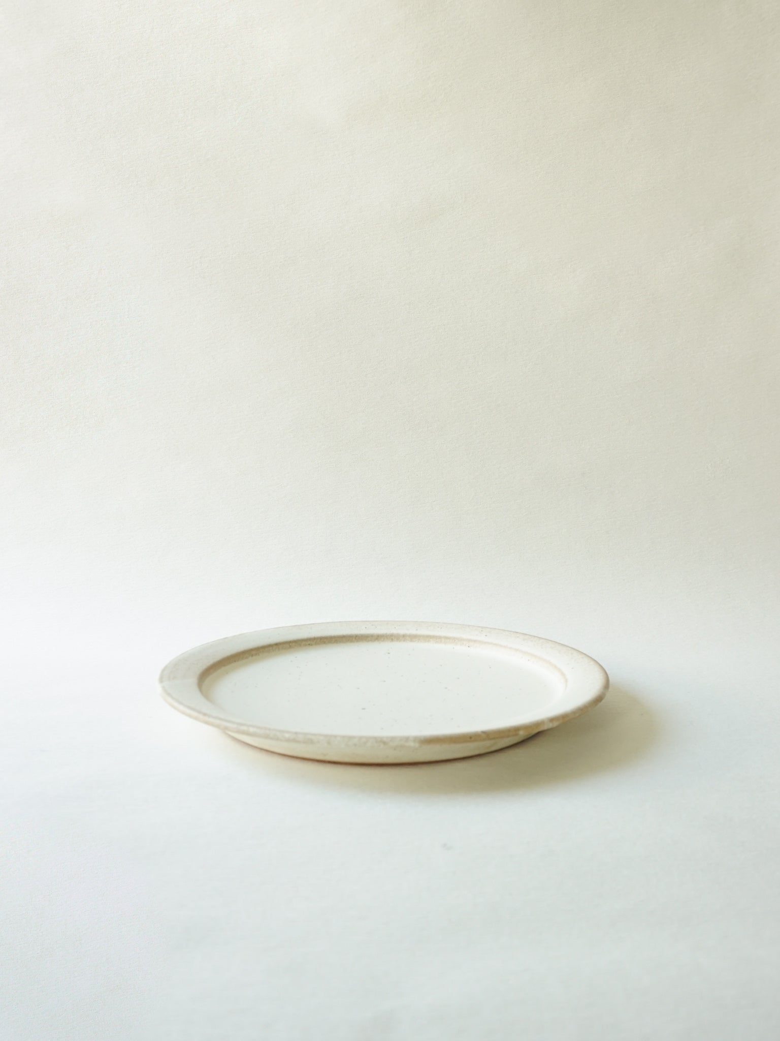 White Stackable Dinner Plate (L)