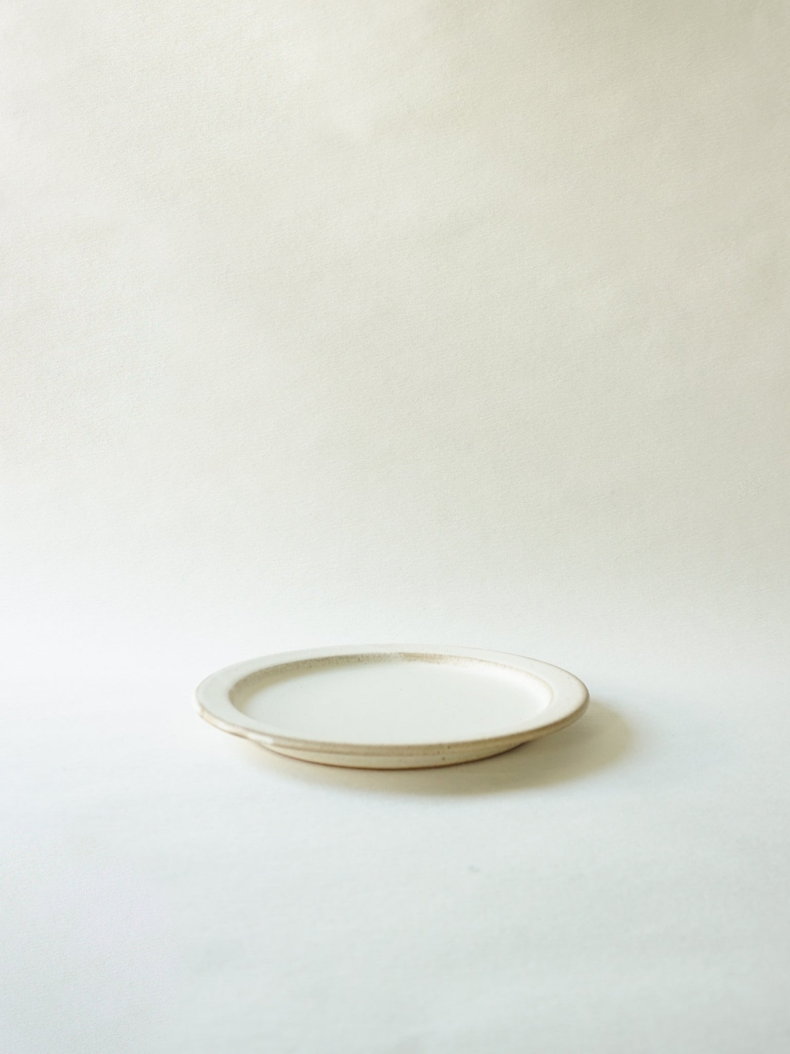 White Stackable Lunch Plate (M)